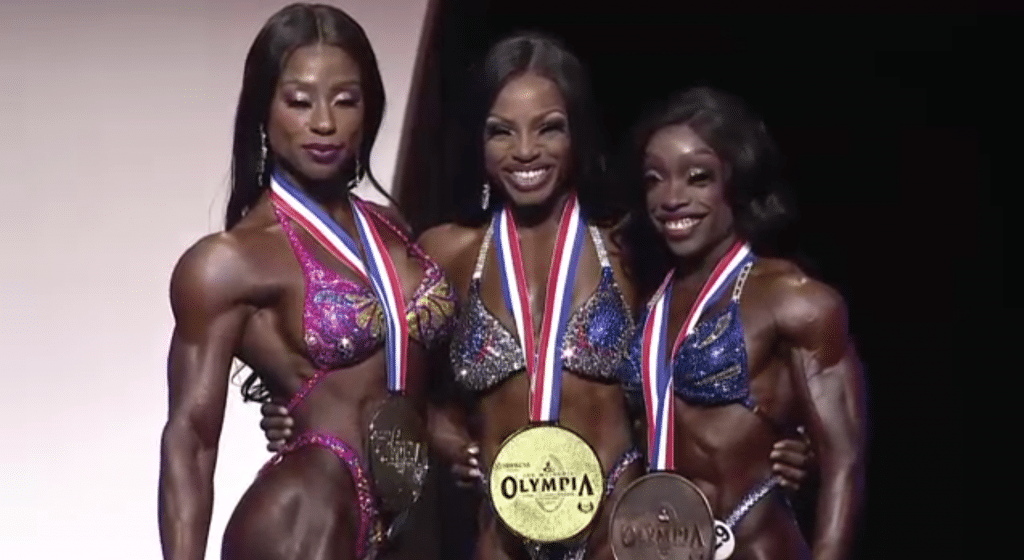 Figure Olympia Top Three