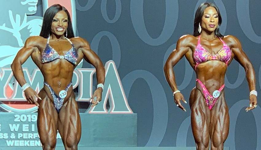 Figure Olympia Top Two