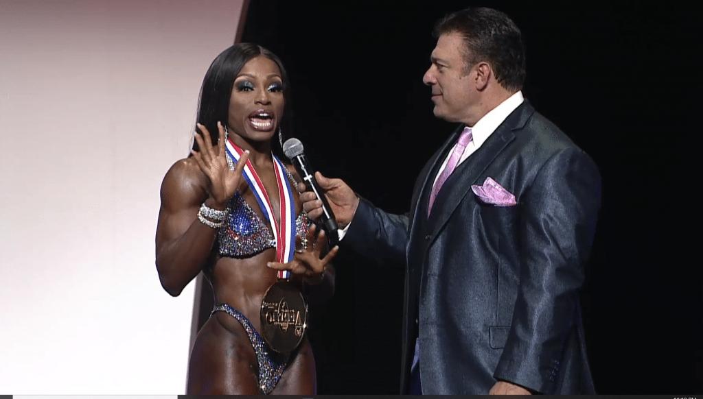 Figure Olympia Winner