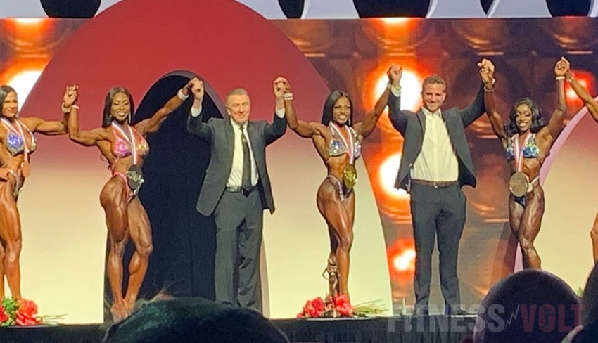 Figure Olympia Winners