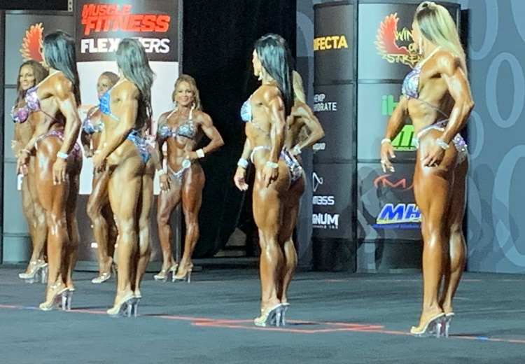 Fitness Olympia Callout