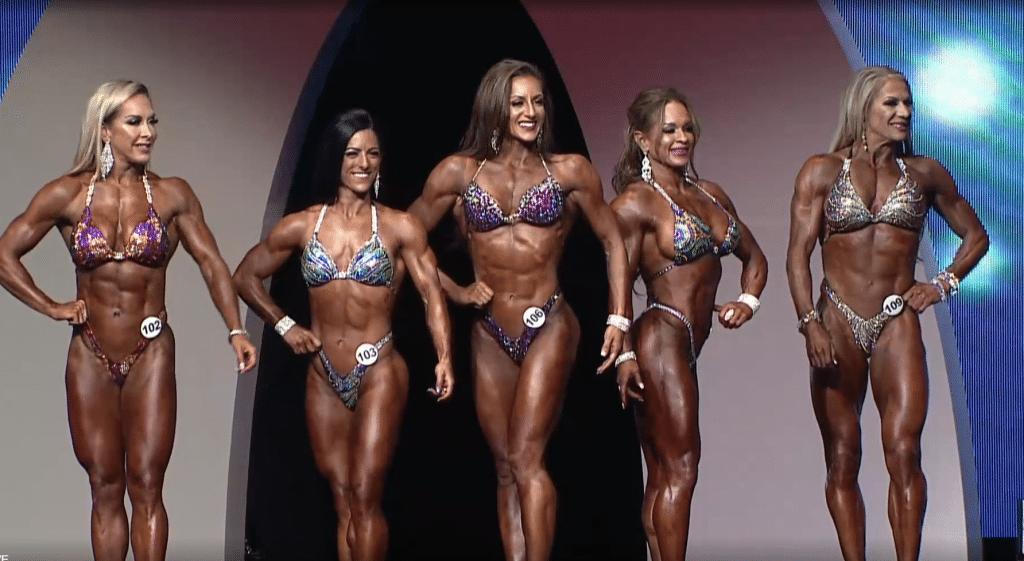 Fitness Olympia Posing