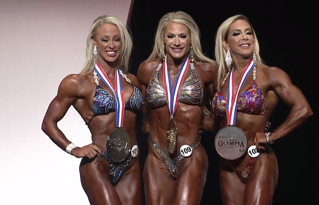 Fitness Olympia Top Three Winners
