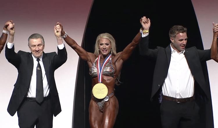 Fitness Olympia Winner