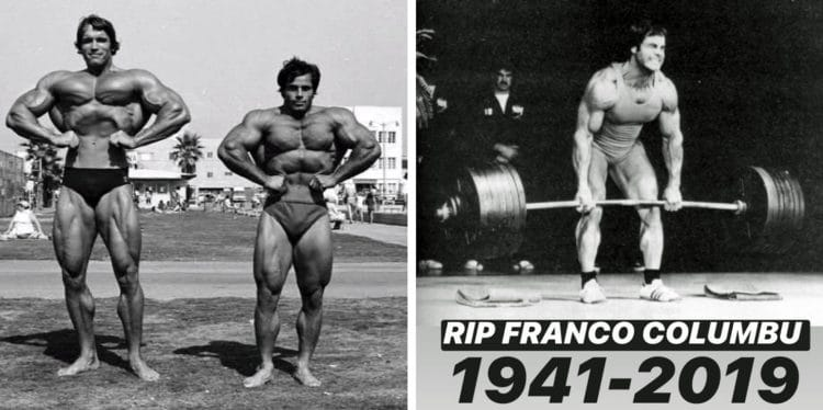 Franco Columbu Laid To Rest. R.I.P