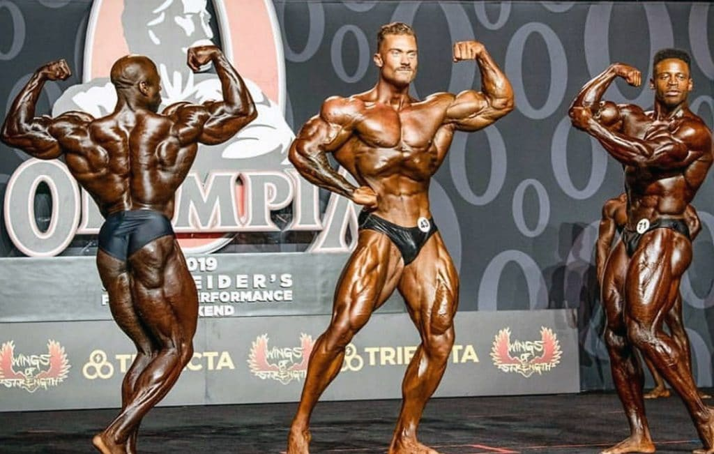 George Peterson, Chris Bumstead And Breon Ansley