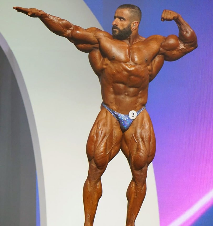 Hadi Choopan At Olympia Finals