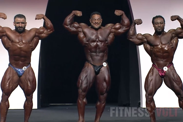 Mens Open Olympia First Callout