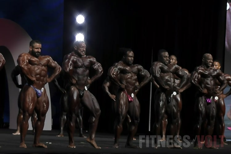 Mens Open Olympia 1st Callout