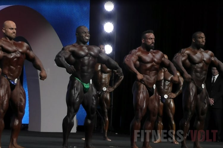 Mens Open Olympia 2nd Callout