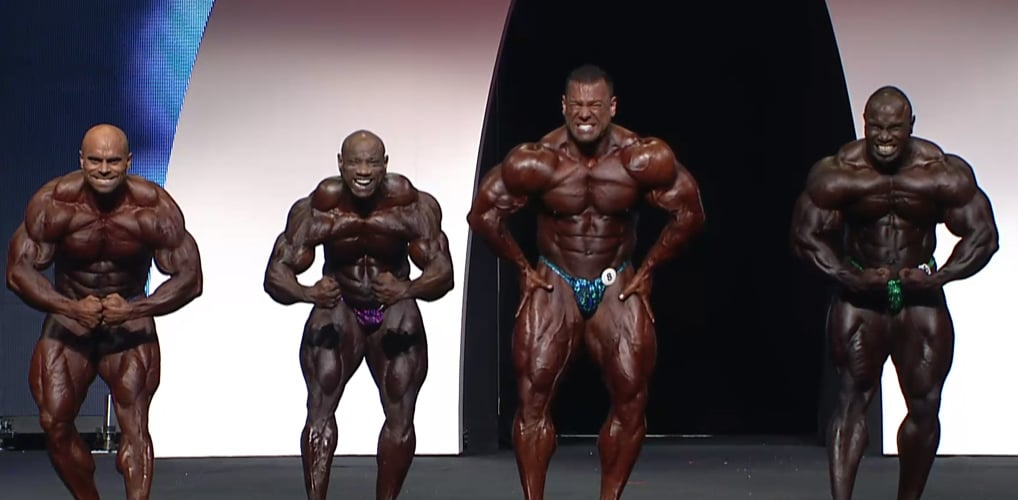 Mens Open Olympia 4Th Callout