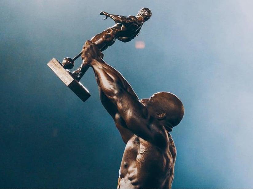 Mr. Olympia Sandow Trophy
