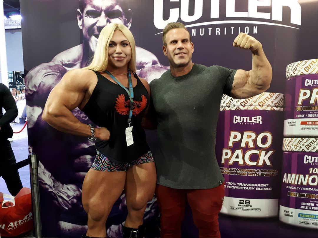 Nataliya Amazonka With Jay Cutler