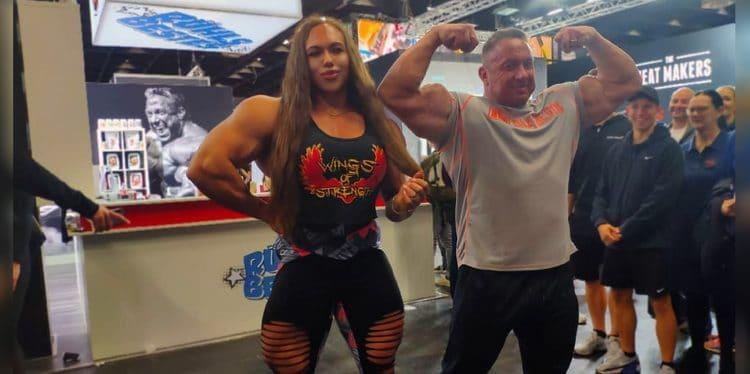 Nataliya Amazonka With Markus Ruhl