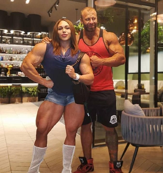 Nataliya Russian Bodybuilder