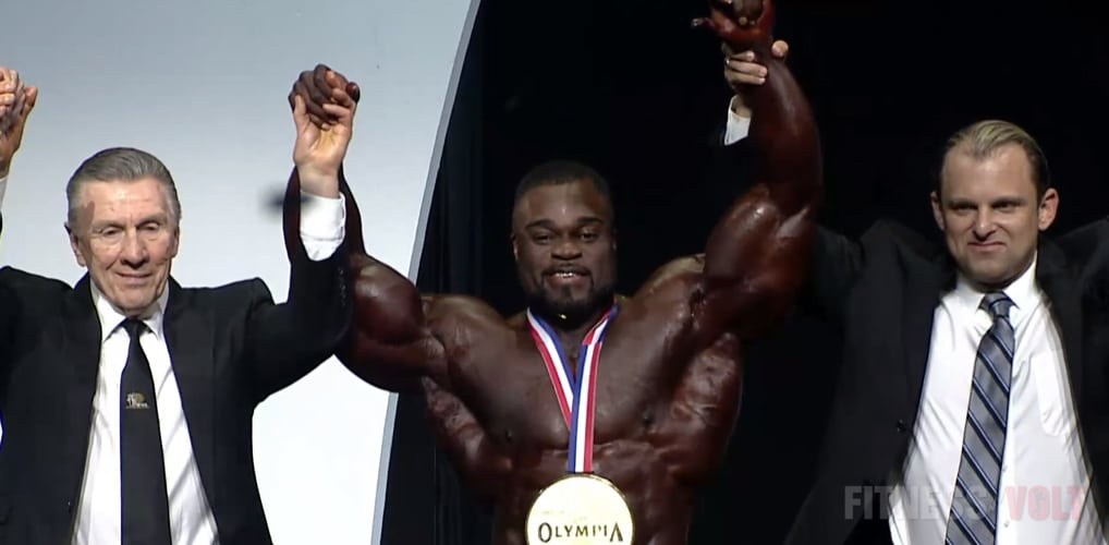 New Mr Olympia