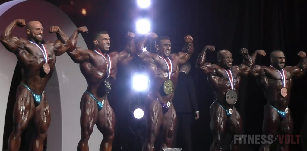 Olympia Final Five Winners