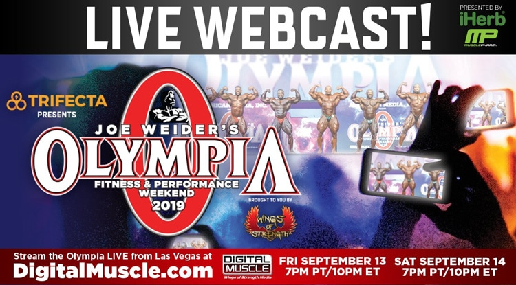 Olympia Live Web Cast