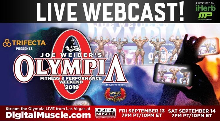 Olympia Live Web Cast
