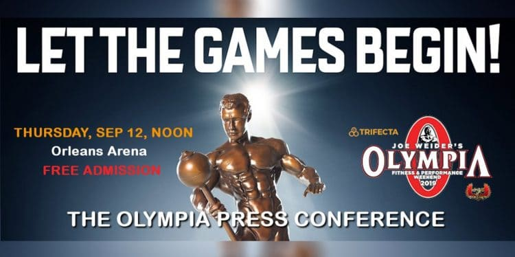 2019 Olympia Press Conference