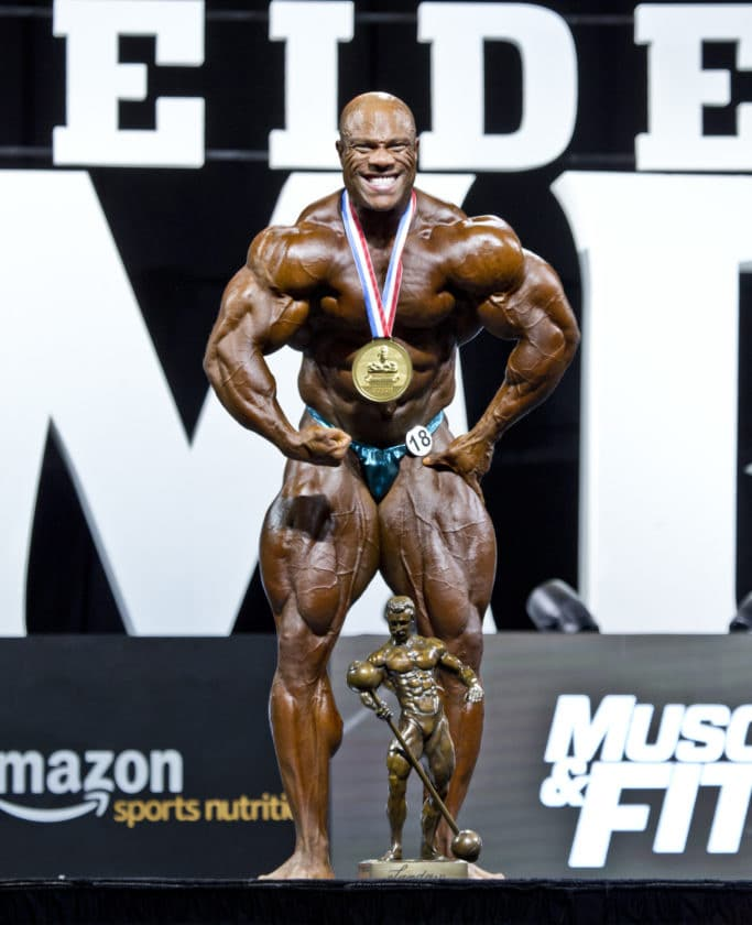 Phil Heath 7x Mr. Olympia