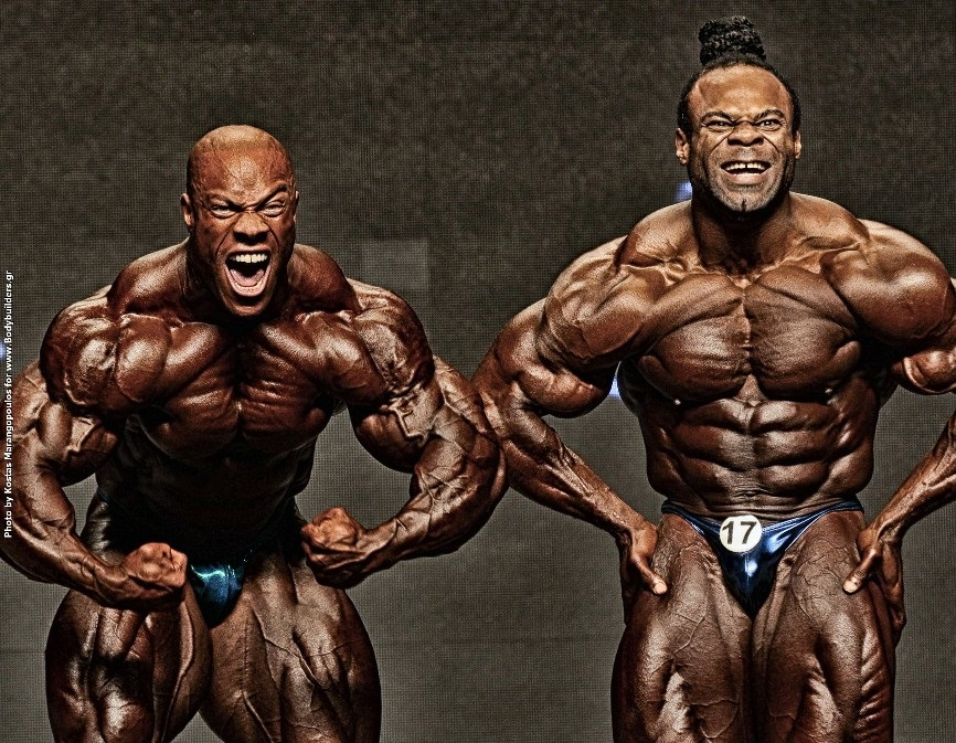 Phil Heath vs Kai Greene