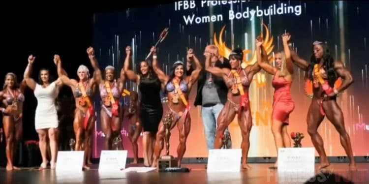 Return Of The Ms. Olympia Contest at Olympia 2020