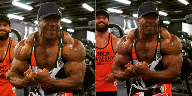 Shawn Rhoden In Incredible Conditioning