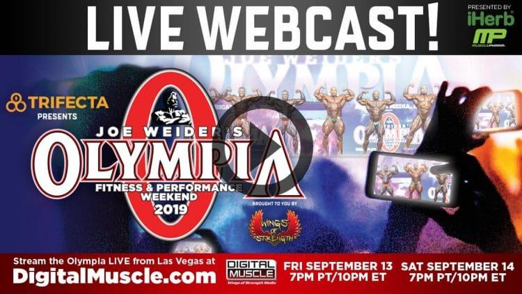Watch Olympia Live