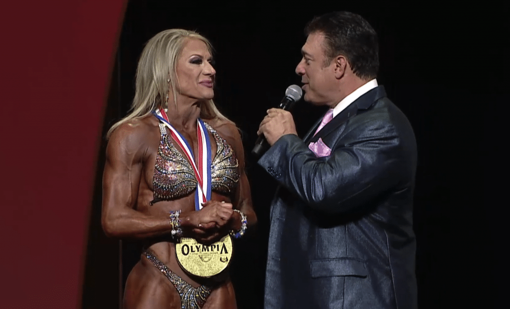 Whitney Fitness Olympia Winner