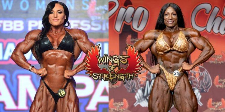 Women's Bodybuilding Margie Martin vs Helle Trevino