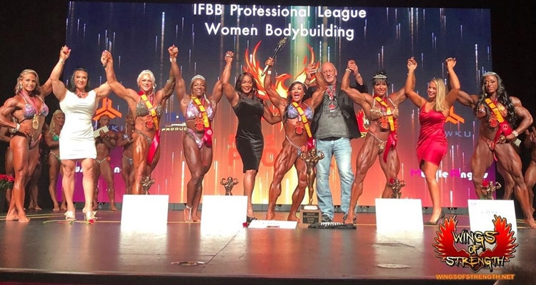 Women Bodybuilding World Championship Winners