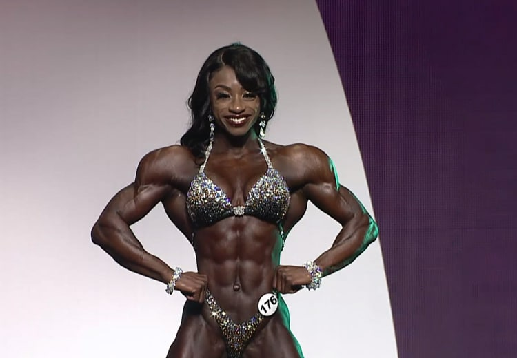Women Physique Olympia Shanique