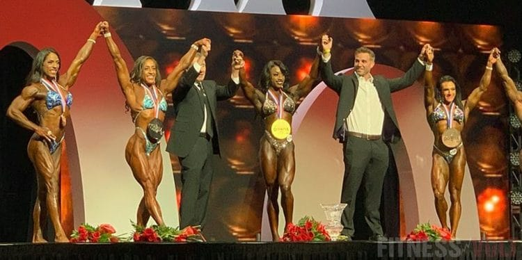 Women's Physique Results