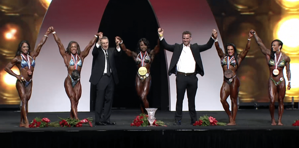 Women Physique Top Winners
