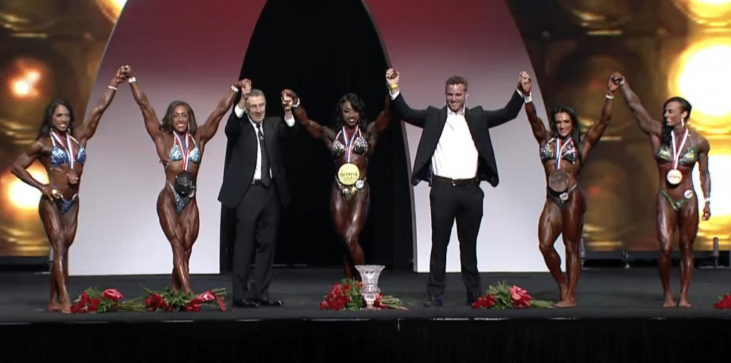 Women Physique Top Winners