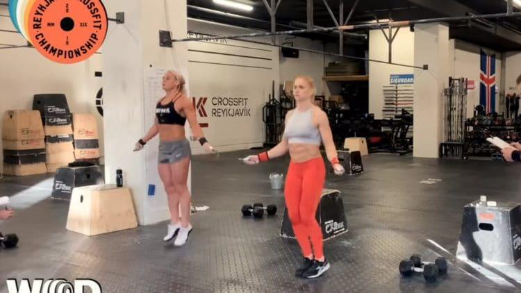Annie Thorisdottir And Sara Sigmundsdottir