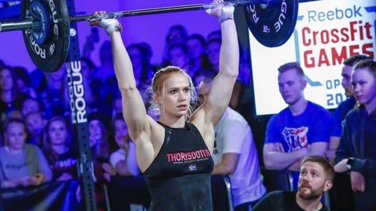 Annie Thorisdottir Patrick Vellner 20.5 Crossfit Open Workout