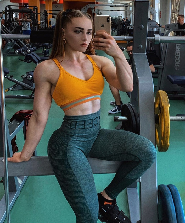 Julia Vins The Muscle Barbie