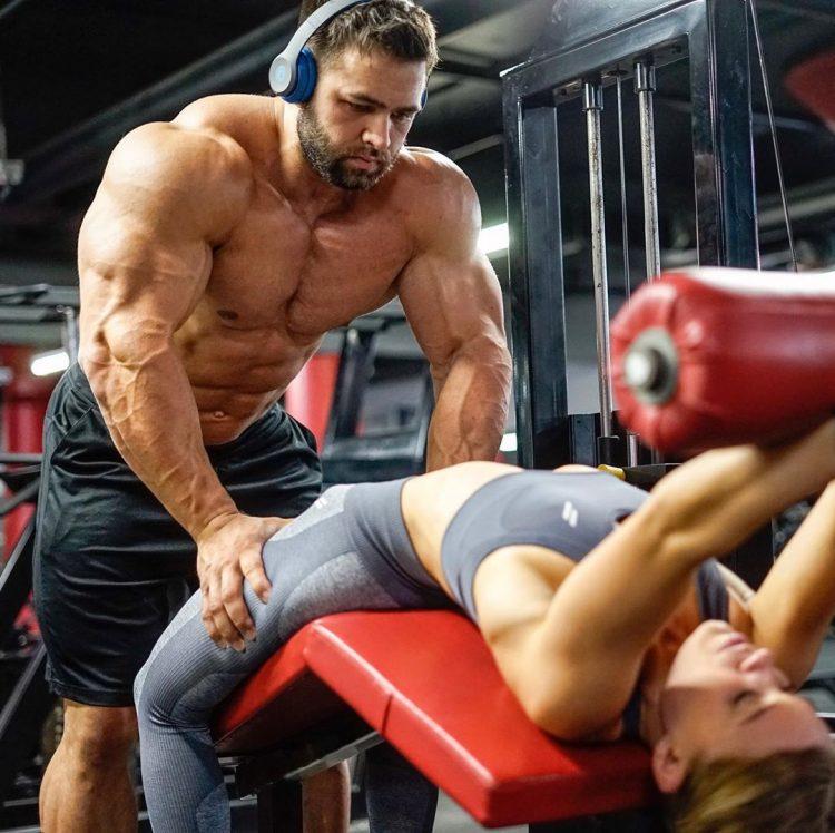 Regan Grimes In Gym