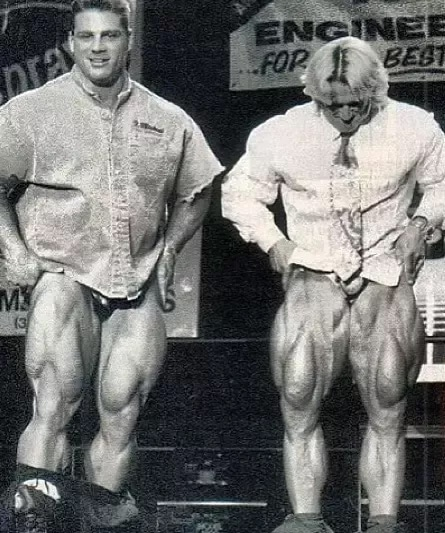 Tom Platz And Paul Demayo