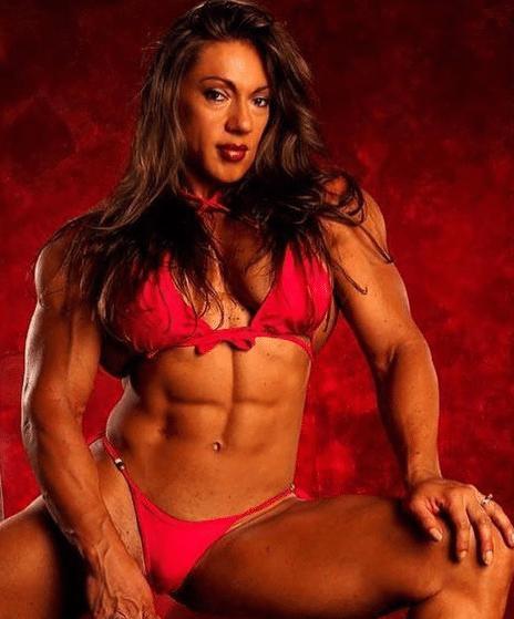 Yaxeni Oriquen Garcia bodybuilders