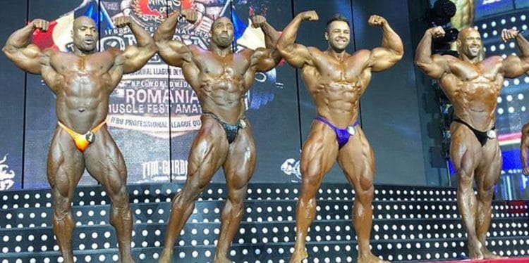 2019 Romania Muscle Fest Pro Results