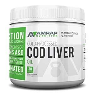 Amrap Nutrition Cod Liver Oil