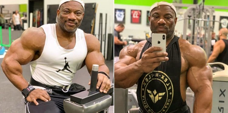 Dexter Jackson Shoulder Workout