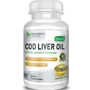 Dr Martin S Nutrition Cod Liver Oil