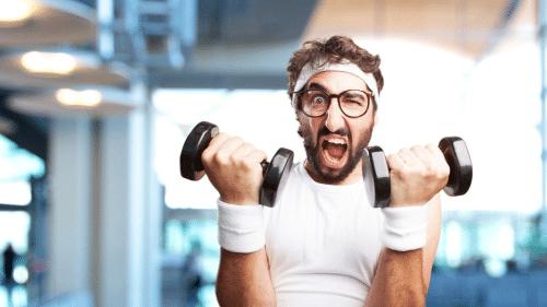 Obnoxious Gym Guy