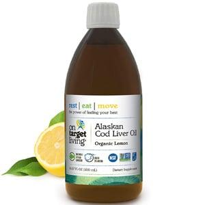 On Target Living Alaskan Cod Liver Oil