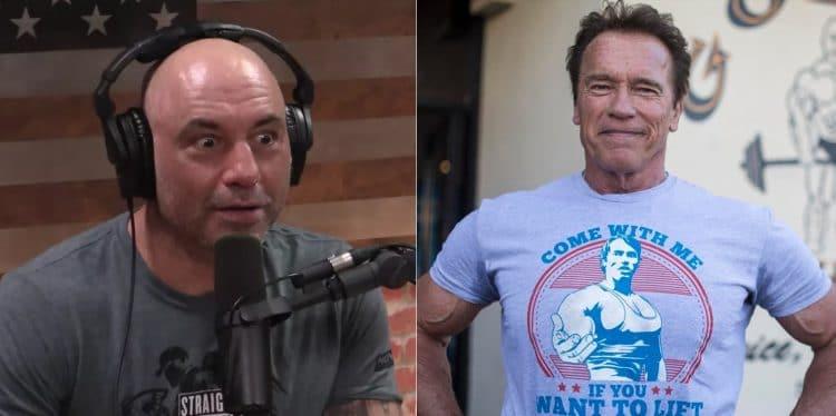 Arnold Schwarzenegger Joe Rogan Vegan Diet