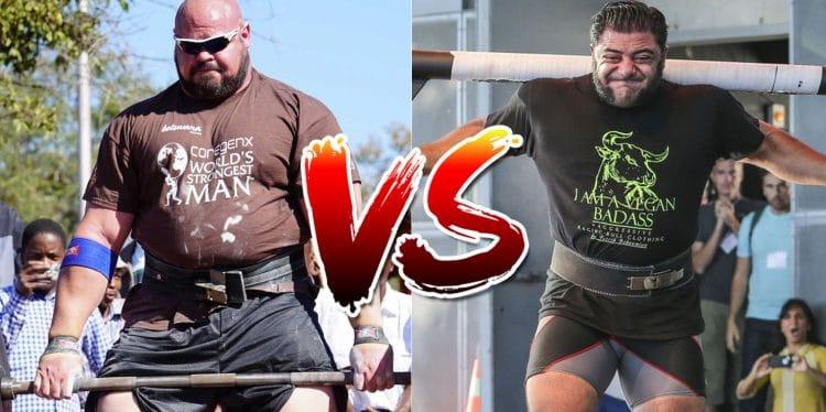 Brian Shaw vs. Patrik Baboumian